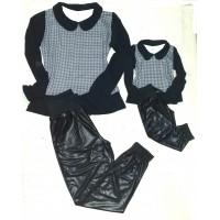 Conjunto calça e blusa PT BR molet