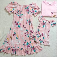 Kit família Rosa CLR flor