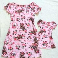 kit vestido rosa dog