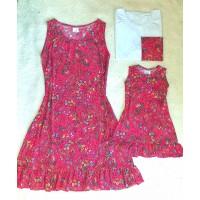 kit família mf pink floral