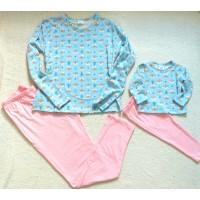 Pijama azul ursi