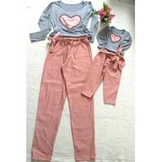 Conjunto calça beng com blusa ML