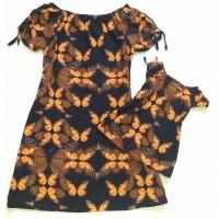 Kit vestido borboleta pt