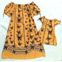 Kit vestido borboleta am