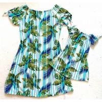 Kit vestido folha BR list
