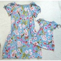 Kit vestido az CLR flor