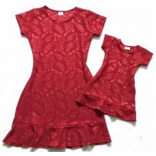 Kit vestido Melissa Vermelho, Branco ou Nude