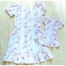 kit vestido Ana ruga branco