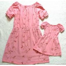 kit vestido Ana ruga rose