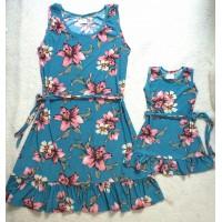 kit vestido mf veaz flor