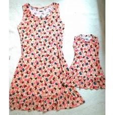 kit vestido BR floral