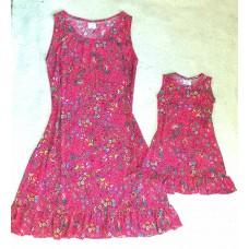 kit vestido mf Pink floral