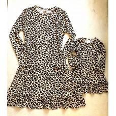 Kit vestido oncinha