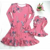 kit vestido suede rosê