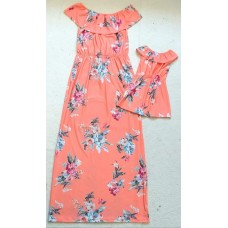 Kit vestido coral ML
